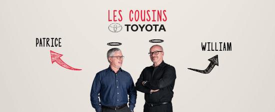 Les cousins Toyota